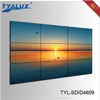 perfect style! 46 inch shopping mall LCD advertising network video wall