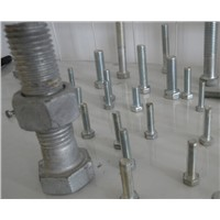 Foundation Bolt With Hex Nut / Anchor Bolt