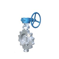 lug type nickel plated butterfly valve