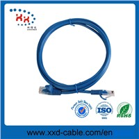 RJ45 Connector Unshielded Twisted Pair Pure Copper Cat5e Patch Cord