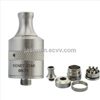 E-cigarette Rebuildable Stainless Steel Signet Star Atomizer