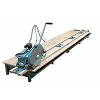 MARBLE GRANITE STONE SLAB RAIL SAW CUTTER CUTTING MACHINE - ABACO -