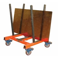 MATERIAL MARBLE GRANITE STONE SLAB V-CART TROLLEY - ABACO -