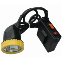 Kl7lmsuper bright led rechargeable lithium battery miner safety lamp