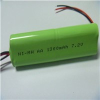 7.2v 1300mah nimh battery pack with factory price