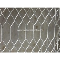 Hexagonal Stailess Steel Expanded Sheet