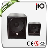 ITC TS-118 China Professional Two Way Loudspeaker subwoofer speaker manufacturer