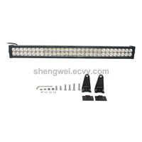 LED Lights Bar 240W Jeep JK Work Lamp Roof Mounting Bracket