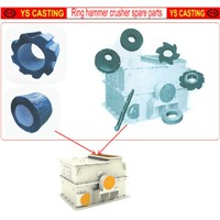 Ring hammer coal crusher wear hammers made in China