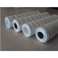 Strng wound filter cartridge