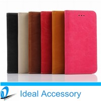 High Quality PU Leather Wallet Case Cover For iPhone6 Air