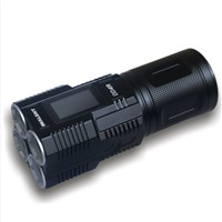IMALENT DD4R flashlight, 3800lumens high output 18650 rechargeable