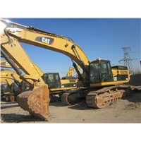 Original Cat Used 45t Hydraulic Crawler Excavator (349D)