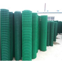 Welded Panelled Mesh Fence
