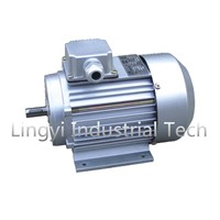 Aluminium housing asynchronous electric motor