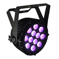 Flat Slim LED PARCAN Hex 6-in-1 RGBWA+UV with POWERCON Stage/Disco/Event  Light CE approved
