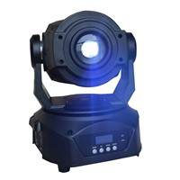 Mini 60W LED moving head spot with prism gobos stage disco party light