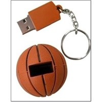 Promotional Customized PVC Basketball USB Flash Drive Pendrive