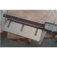 Granulator blades for wood