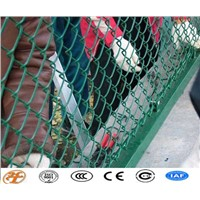 Used PVC Coated Chain Link Fence and Gates System