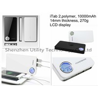 portable charger for ladtop,iphone,samsung etc.10000mAh capacity