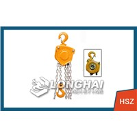0.75 tons mini chain lever hoist lever hoist installation [equipment] Longhai