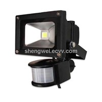 10W PIR Sensor LED Flood Light(SW-FL-PIR-10W)