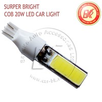 COB LED Car Light Bulbs Super Bright Socket Optional T10 T15 H1 H3 880 881