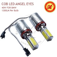 COB LED Marker Angel Eyes Light H8 Super Bright