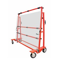 HEAVY DUTY TROLLEY TO DISPLAY A LARGE STONE SLAB