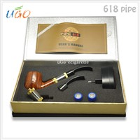 Hot sale vapor pipes e pipe 618 atomizer , mechanical mod e pipe 618 with superior quality