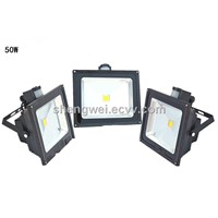 IP65 IP rating 50W led flood light with pir motion sensor ce rohs saa