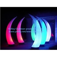 Inflatable Decorative Horn Light