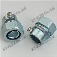 ZInc Alloy Electrical Screw Connector For Rigid Conduit
