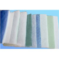 pleated filter media /Blue colour G4 non-woven air filters