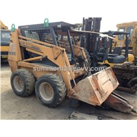 used CASE 1845C loader  used backhoe loader original wheel loader