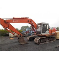 used HITACHI EX150 crawler excavator