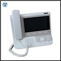 4 Line VoIP Phone, Smart VoIP WIFI SIP Phone With 7 Inch Colorful LCD Screen
