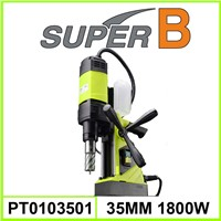 35mm 1100W portable magnetic drill machine; magnetic drill