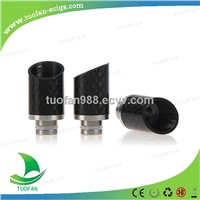 Wholesales 2014 fashion 510 Wide Bore e-cigarette drip tip 510 Carbon B