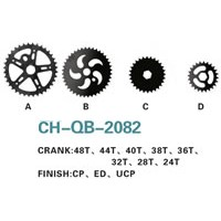 Bike Crank & Chainwheel