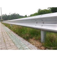 two wave hot dip galvsnized crash barrier