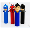 New Customized PVC Shell Power Bank / Portable Cartoon Power Bank 1200-2600mah