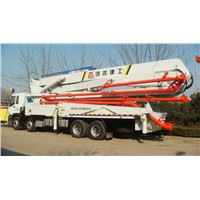 52m HOWO/ISUZU Truck-mounted Concrete Pump with Boom