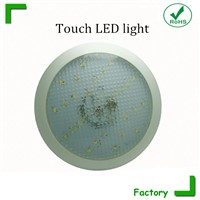 Waterproof IP67 mounted touch circular LED ceiling light