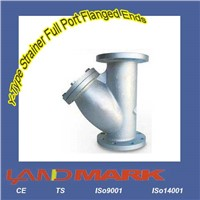 Y-Type Strainer Full Port Flanged Ends