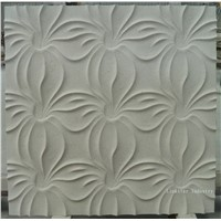 Natural Limestone 3D textured wall cladding tile