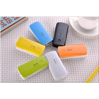 Fish mouth power bank 5600mAh USB / External Backup Battery pack Charger The mobile power