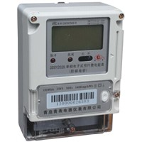 Single-phase Two-wire Electronic Prepaid Active Meter (LCD display)