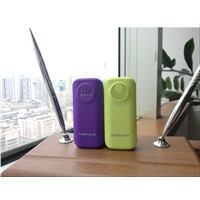 universal usb mobile battery charger fo  second fish mouth power bank with flashlights 5600mah